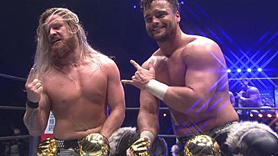 NJPW World Tag League Finals: FinJuice win, Jericho and Moxley deliver Wrestle Kingdom messages