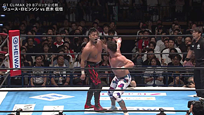 Upsets rule G1 Climax 29 Night Two