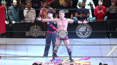 G1 Supercard: Okada and White have a 30-minute classic for the IWGP title