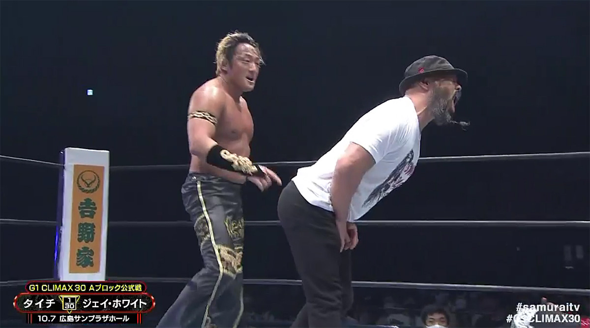 White, Taichi steal the show at NJPW G1 Climax Night 11